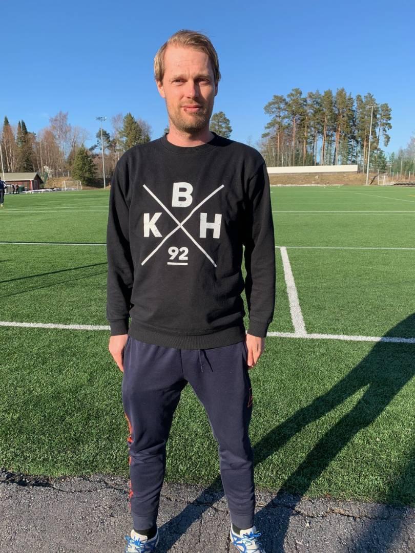 Lars Kjestrup ny tränare för herrlaget