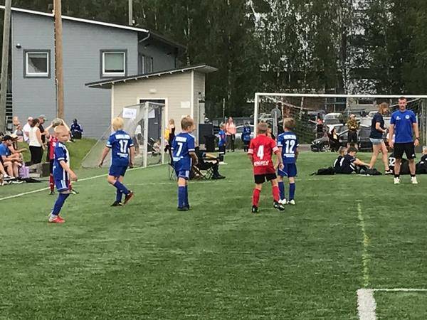 Matchprogram för Norrvalla cup