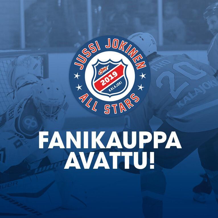 Jussi Jokinen All Stars fanikauppa on avattu!
