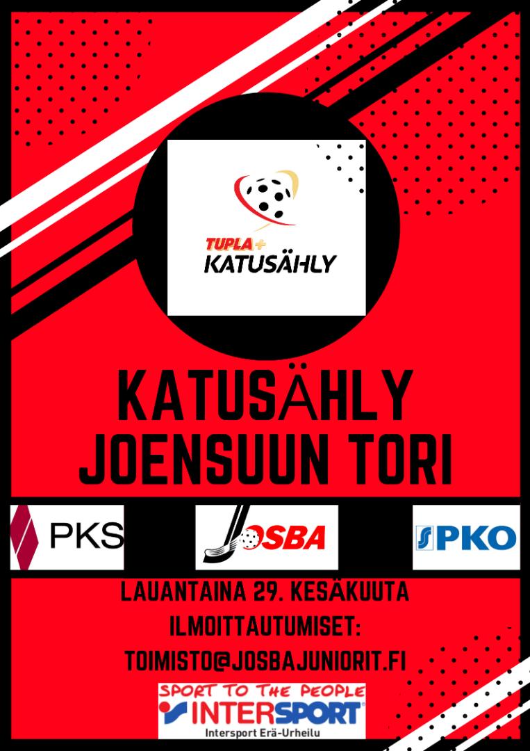 Katusähly 2019 Joensuun torilla 29.6.