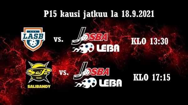 Josba/LeBa P15 pelaa Porvoossa la 18.9.