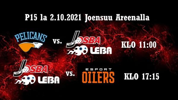 Josba/LeBa P15 kausi jatkuu 2.10.