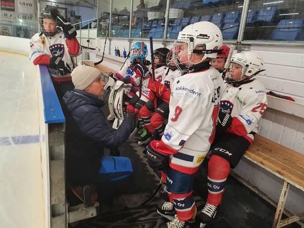 Harjoituspelit Pyhäjoella ja Kokkolassa