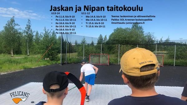 Jaskan ja Nipan taitokoulu U11-14