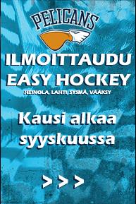 Easy Hockey U10 joukkueen toiminta käynnistyy 4.9