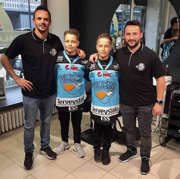 Sporttiparturi Shala&Saqi tarjoaa ilmaisen kauden kahdelle kiekkokoululaiselle