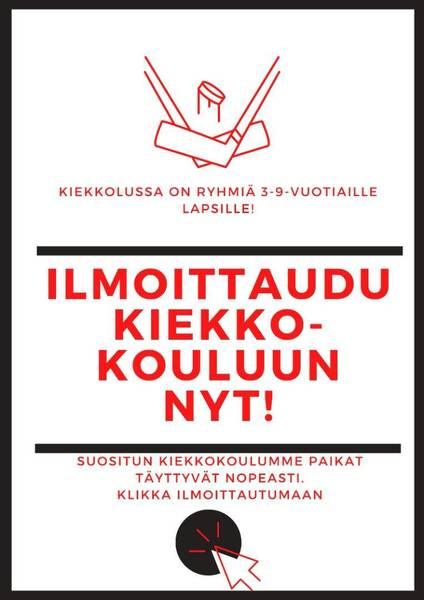 Ilmoittaudu Jyväskylän kiekkokouluun!