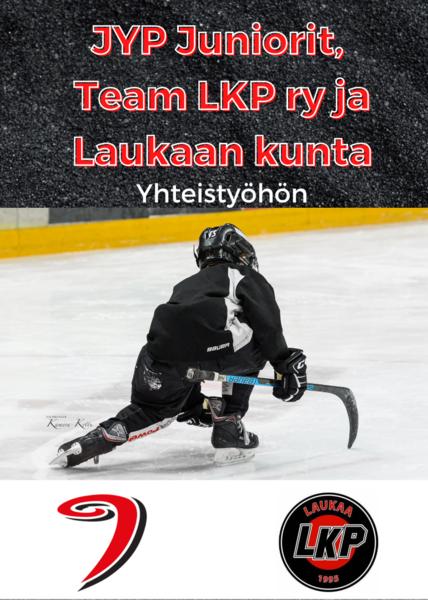 JYP Juniorit ry, Team LKP ry ja Laukaan kunta yhteistyöhön
