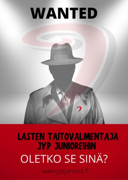 JYP JUNIORIT RY HAKEE PÄÄTOIMISTA TAITOVALMENTAJAA