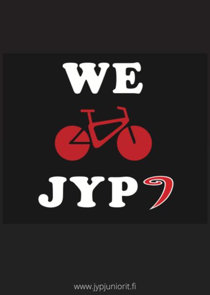 JYP Junioreille Jyväskylän pyöräilyn edistämisen kunniamaininta 2021!