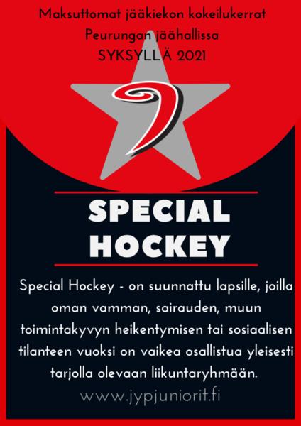JYP Special Hockey