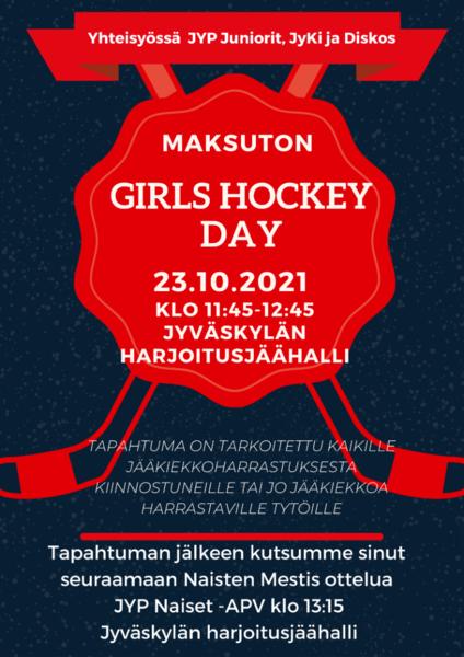 Girls Hockey Day 23.10.2021