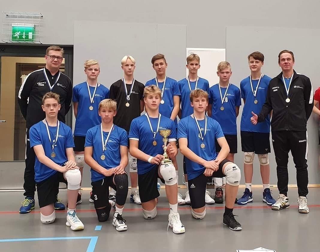 JyväsLentiksen juniorit esiintyivät vahvasti C-ikäisten alue-SM-kisoissa