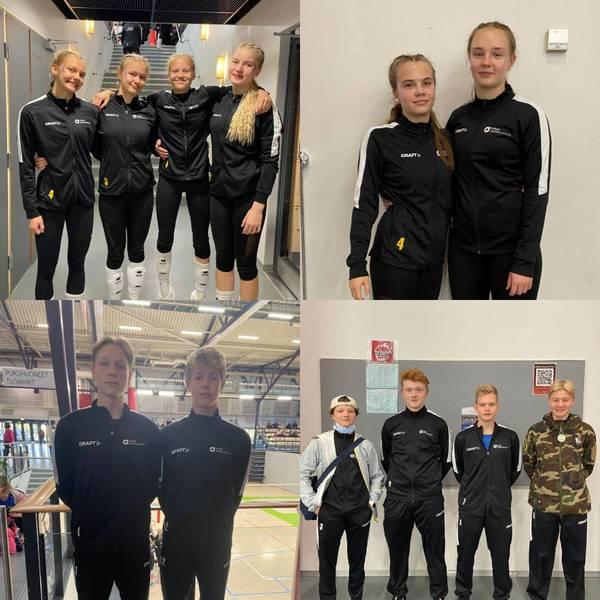 JyLen juniorit 12 pelaajan voimin B-junioreiden alue-SM-turnauksessa
