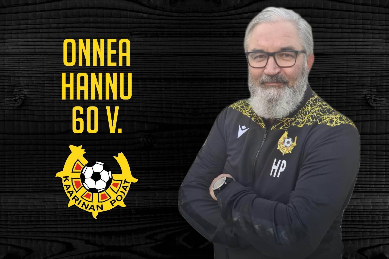 Hannu Paatelo 60 vuotta