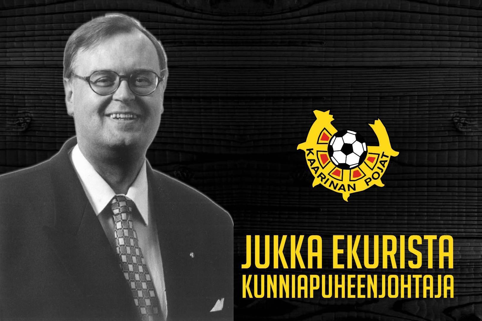KaaPon kevätkokous kutsui Jukka Ekurin kunniapuheenjohtajaksi