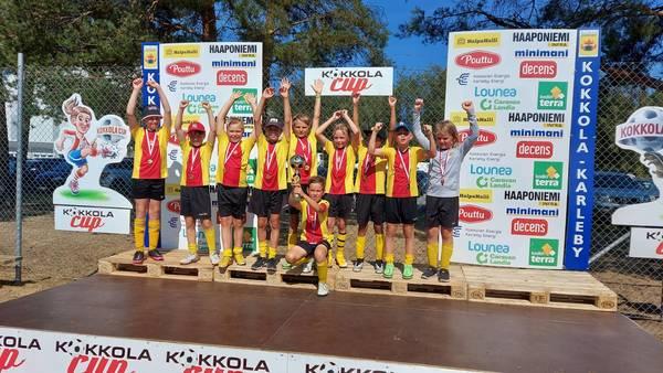 KaaPo P2010 kultaa Kokkola Cupista.