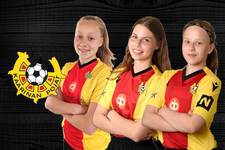 KaaPon pelaajat mukana 2006-syntyneiden tyttöjen lännen osa-alueleirillä