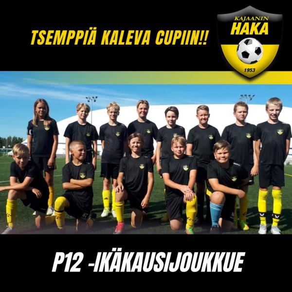 Hakan P12 joukkue selvitti tiensä Kaleva Cupiin!