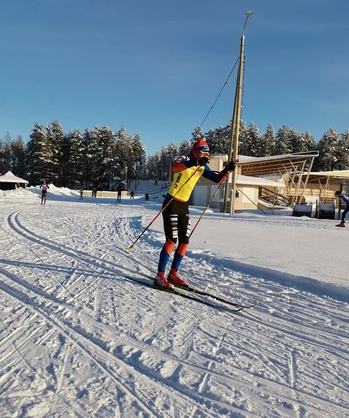 K-P cup ja pm yhteislähdöt pertsalla hiihdettiin tänään Vetelin aurinkoisessa pakkassäässä