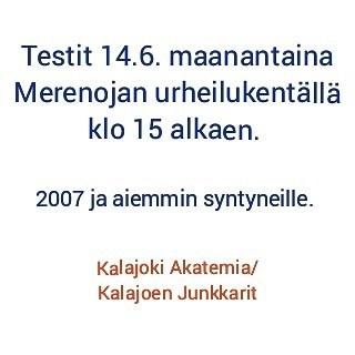 Testit 14.6.