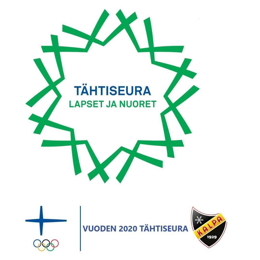 Vuoden 2020 lasten ja nuorten Tähtiseura - Juniori-KalPa