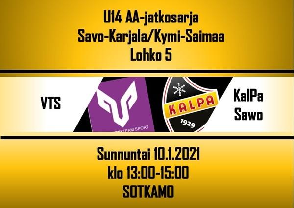KalPa Sawo romahti 3:ssa erässä, pisteet jäivät Sotkamoon!