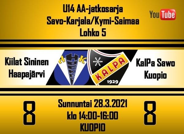 KalPa Sawo päätti kauden tasapeliin Haapajärvellä, makoisa voitto karkasi viime sekunneilla!