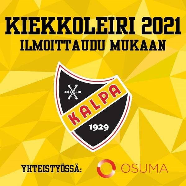 Kiekkoleiri 2021 - ILMOITTAUTUMINEN ON KÄYNNISSÄ!