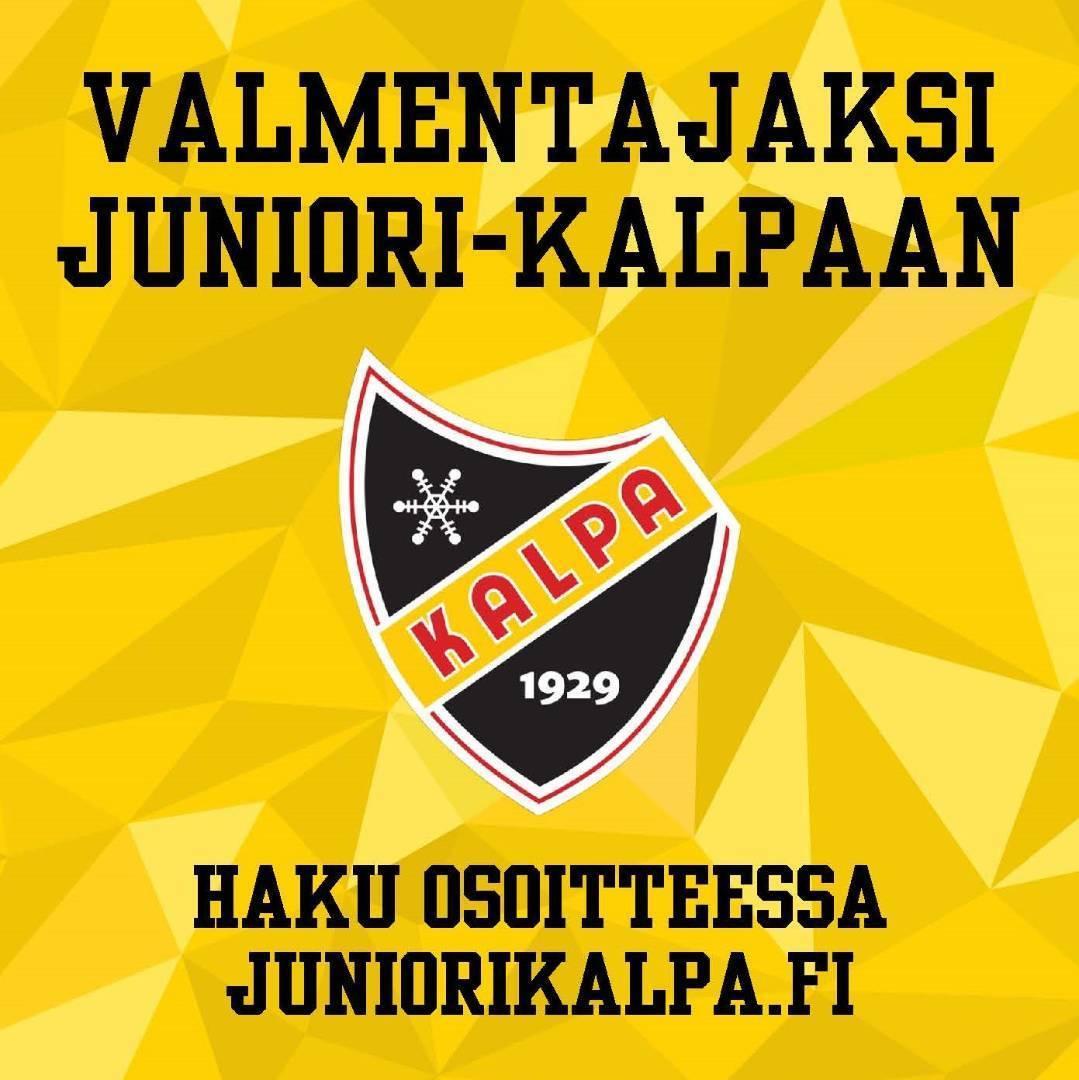 Hae valmentajaksi Juniori-KalPaan