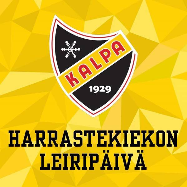 Harrastekiekon leiripäivä 22.10.2021 - ILMOITTAUDU MUKAAN!