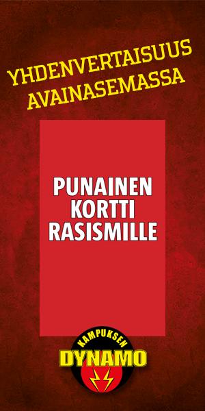 Punainen kortti rasismille