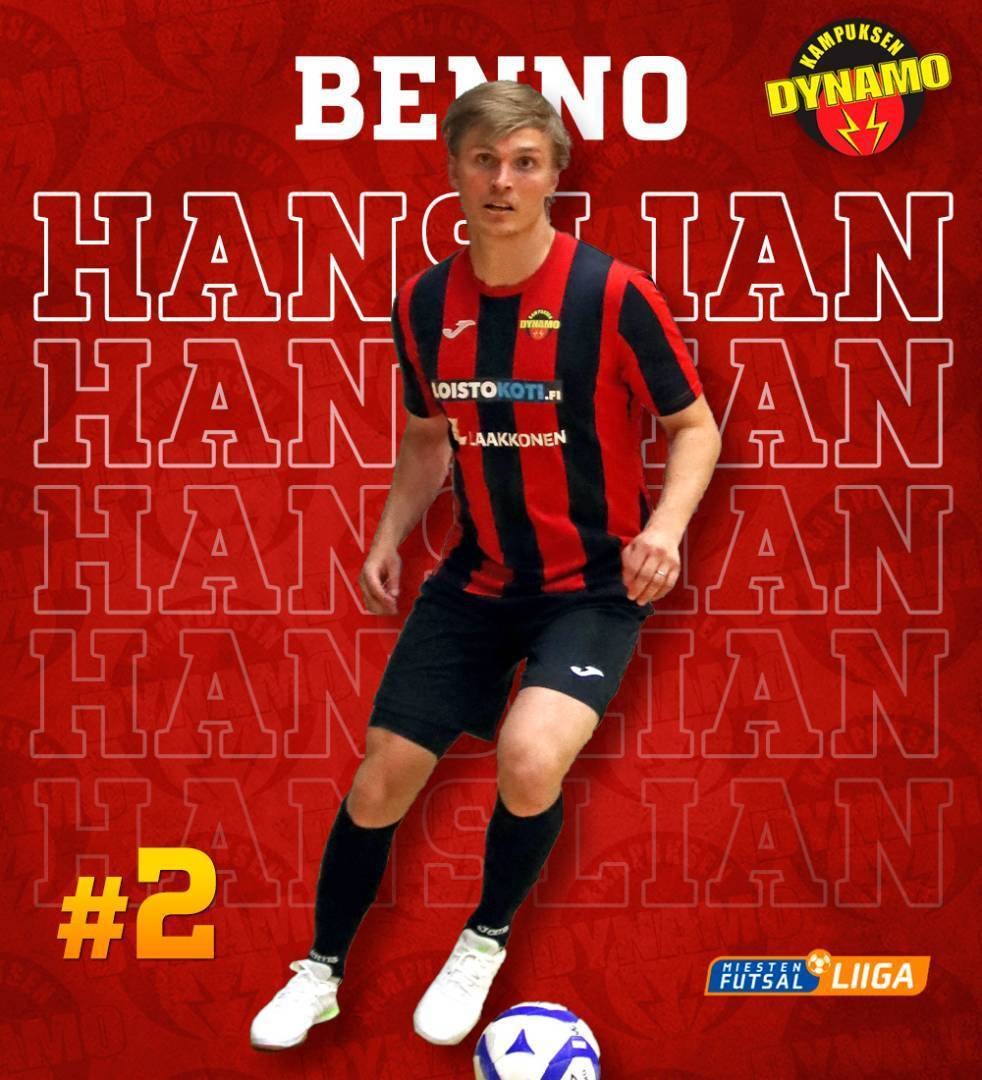 Tervetuloa Dynamoon Benno!