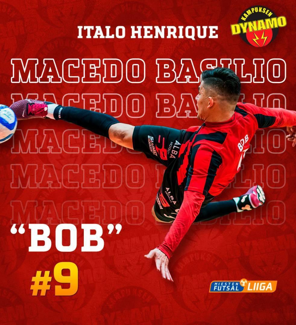 Brasilialainen Bob jatkaa KaDyssa