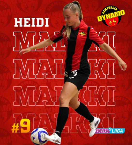 22-vuotias Heidi Malkki jatkaa punamustissa!