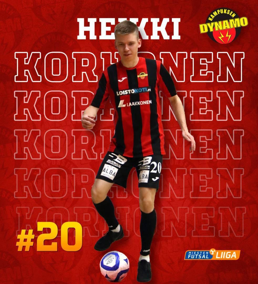 Heikki Korhonen jatkaa KaDy-paidassa