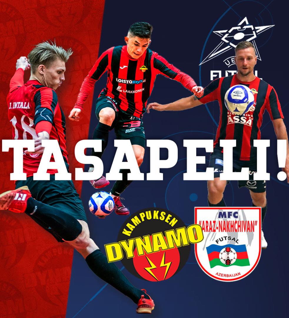 Mestarien Liiga: Dynamo pakotti suurseura Arazin tasapeliin, jatkohaaveet elossa
