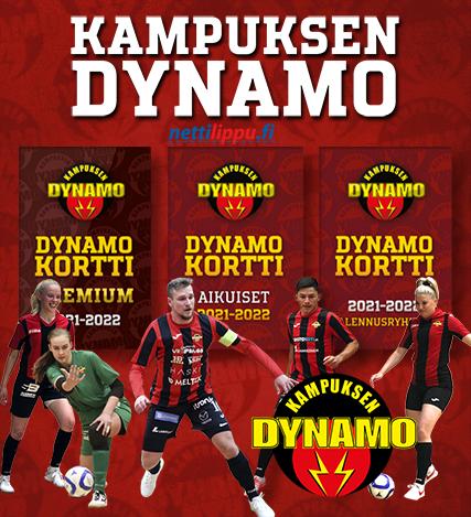 Dynamo-kortit myynnissä tulevalle kaudelle