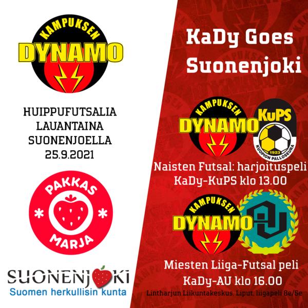 ENNAKKO: KaDy kohtaa Alastaron Urheilijat lauantaina Suonenjoella