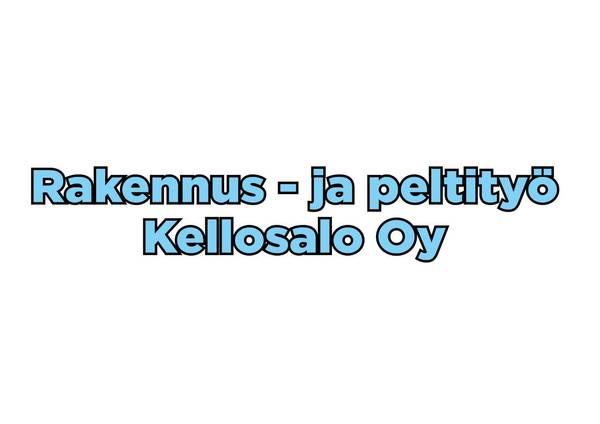 Rakennus ja peltityö Kellosalo Oy