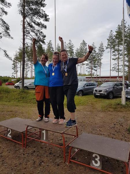 Ann-Helen Fromille SM pronssia Ylistarossa