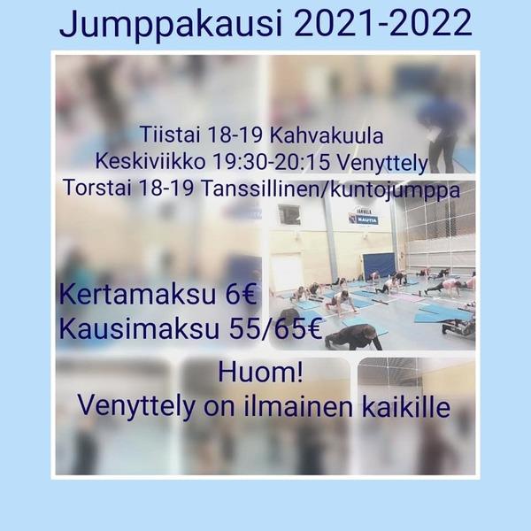 JUMPPAKAUSI 2021-2022