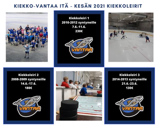 Kiekko-Vantaa Itä - Kesän 2021 kiekkoleirit ILMOITTAUTUMINEN