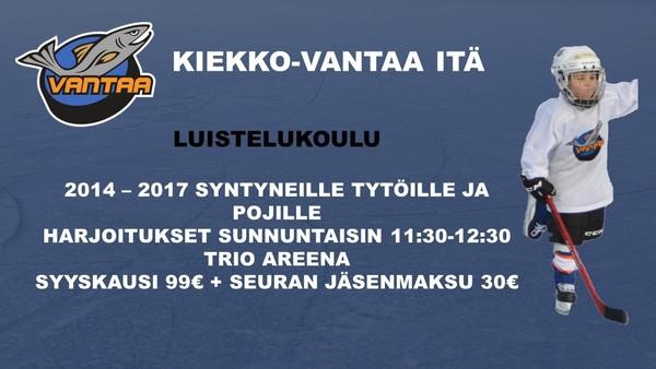 Kiekko-Vantaa Idän Luistelukoulu