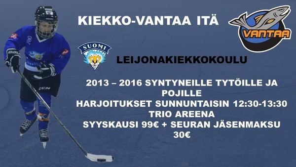Kiekko-Vantaa Idän Leijonakiekkokoulu