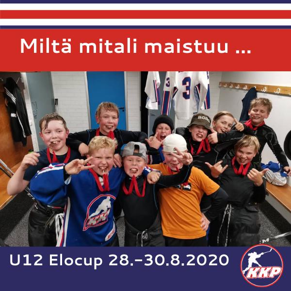 U12 Elocup 28.-30.8.2020