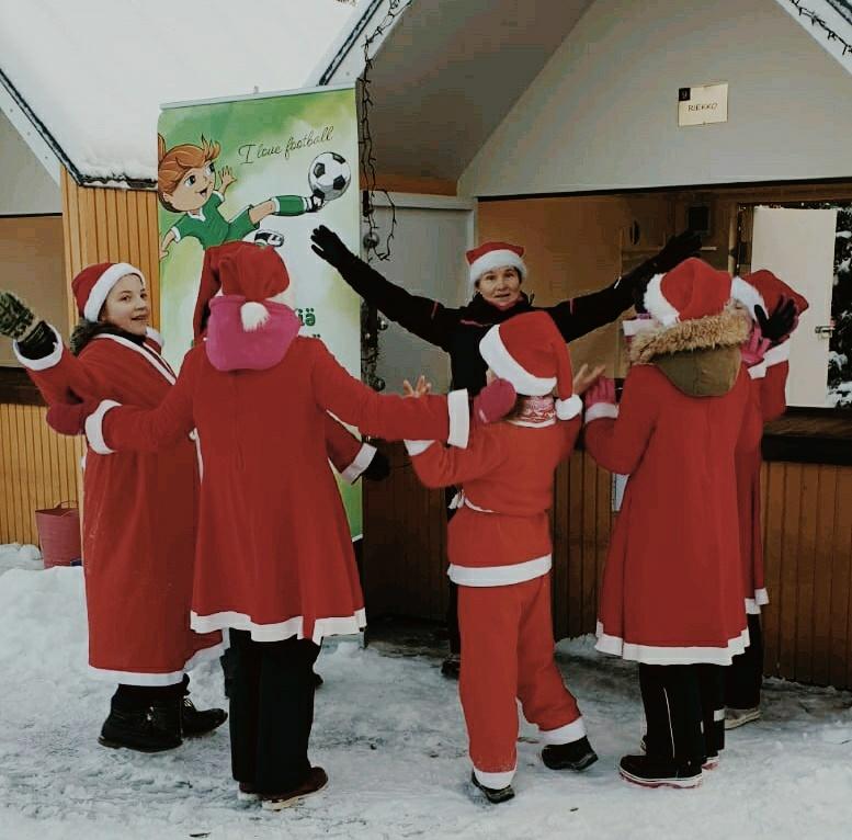 Klubi-36 mukana Iisalmen joulunavauksessa