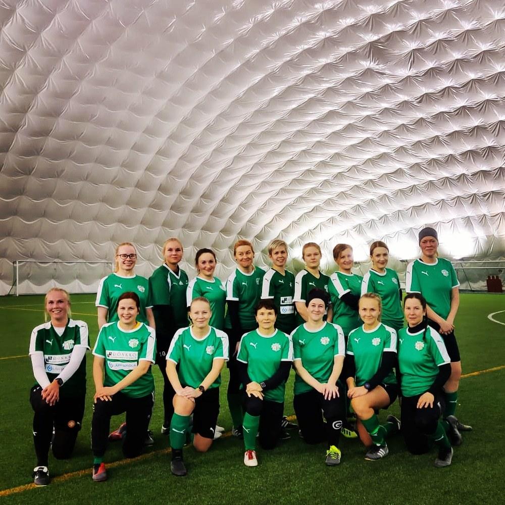 FC HöntsäMammat voitokkaina harkkapelissä