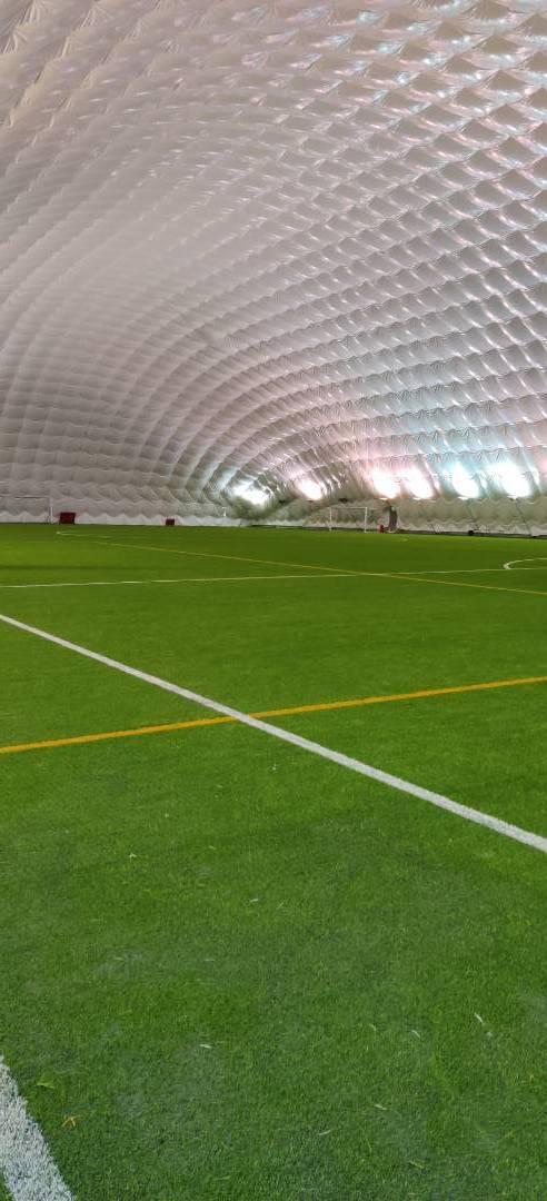 Jalkapallohalli suljettu
