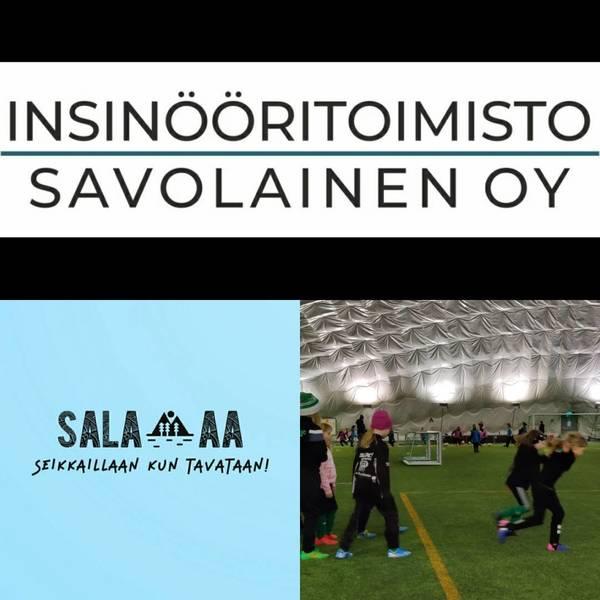 11-12 joukkueen uudet sponsorit: Insinööritoimisto Savolainen Oy ja SalaMaa.